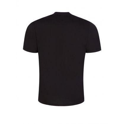 Black Relaxed-Fit Dneaker Artwork T-Shirt