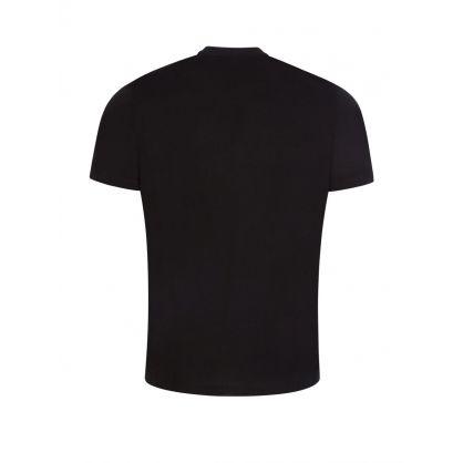 Black Logo-Print Dolive T-Shirt