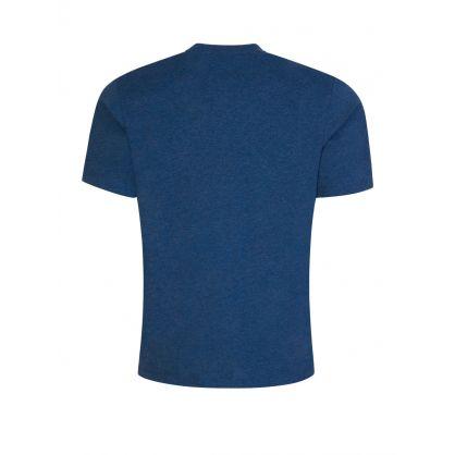 Blue Reverse-Logo Dero211 T-Shirt