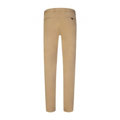 Beige David 204D Slim Fit Chinos