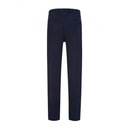 Navy Slim Fit David 204D Trousers
