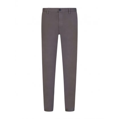 Grey David 204D Slim Fit Chinos