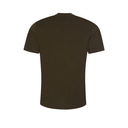 Dark Green Durned212 Logo T-Shirt