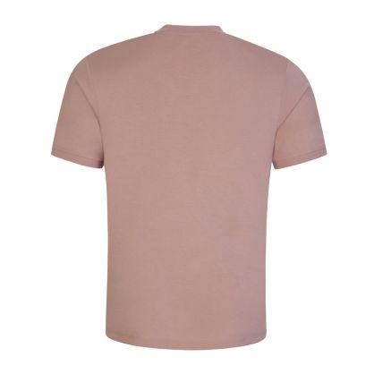 Pink Diragolino212 Red Logo Label T-Shirt