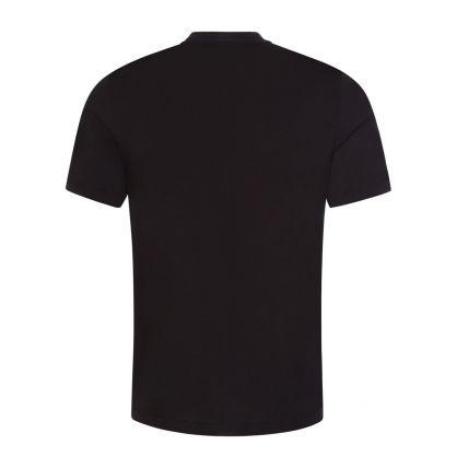 Black Durned213 Cropped-Logo T-Shirt
