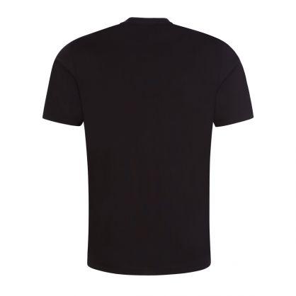 Black Darlon213 Cropped Logo T-Shirt