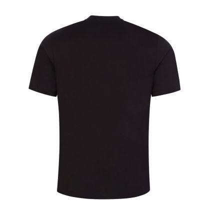 Black Darlon213 Cotton Cropped-Logo T-Shirt