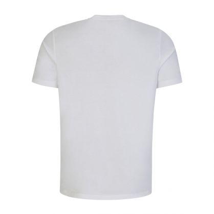 White Dolive Logo-Print T-Shirt