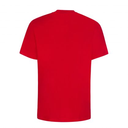 Red Dolive211 Reflective Logo-Print T-Shirt