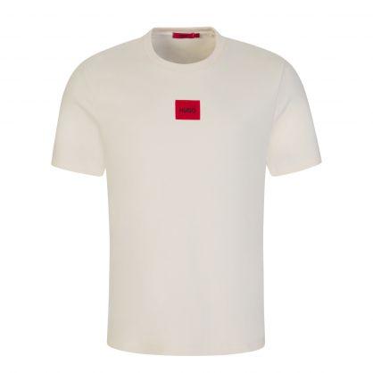 Beige Dorkshire Chest Logo T-Shirt