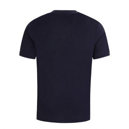 Dark Blue Diragolino212 Red Logo T-Shirt