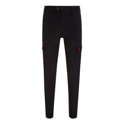 Black Glian214D Trousers