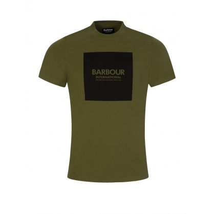 Green Slim-Fit T-Shirt