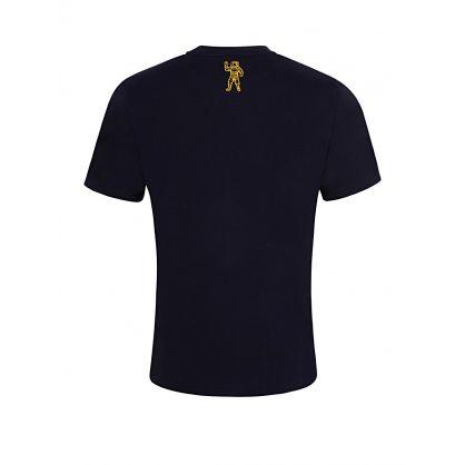 Navy Small Arch Logo T-Shirt