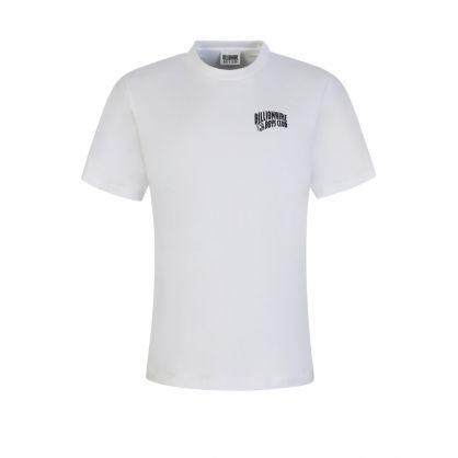 White Small Screenprint Arch T-Shirt