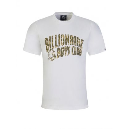 White Camo Arch Logo T-Shirt