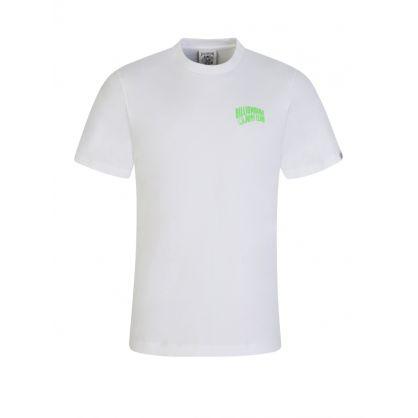 White Neon Green Logo T-Shirt