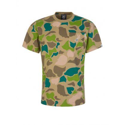 Camo All-Over Print T-Shirt