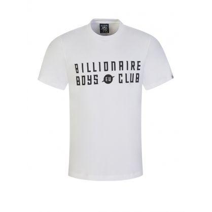 White EU Logo T-Shirt