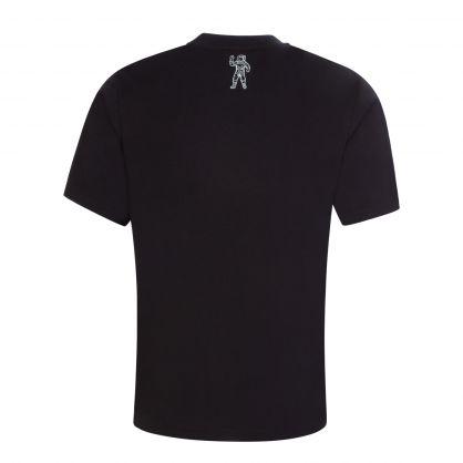 Black/Green Arch Logo Fill T-Shirt