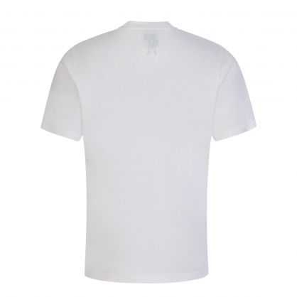 White/Green Arch Logo Fill T-Shirt