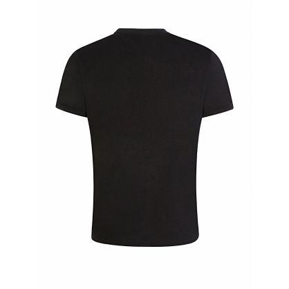 Menswear Black UV Logo T-Shirt
