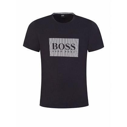 Menswear Navy Fashion Logo T-Shirt