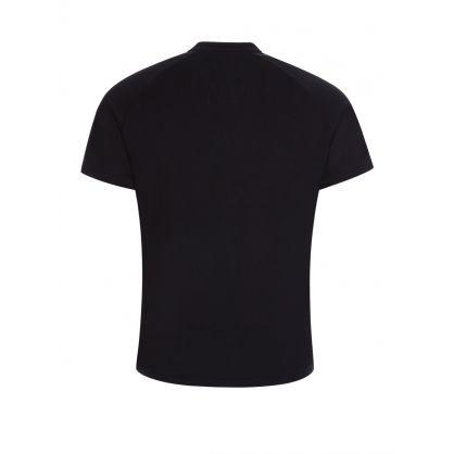 Black Bodywear Fashion T-Shirt