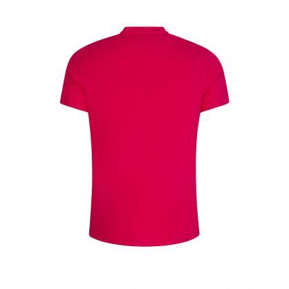 Pink Beachwear Relaxed-Fit UPF 50+ T-Shirt