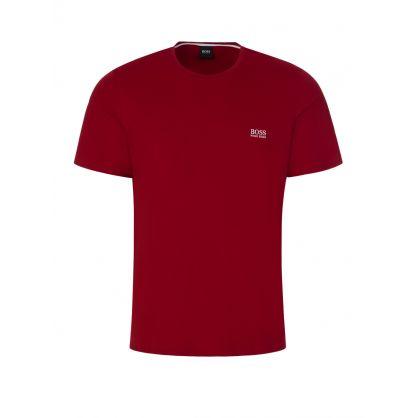 Dark Red Bodywear Mix + Match Logo T-Shirt