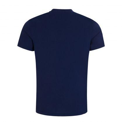Dark Blue Relaxed-Fit UPF 50+ T-Shirt
