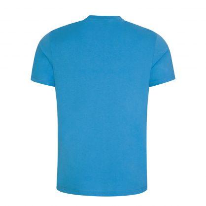 Blue Beachwear Relaxed-Fit UPF 50+ T-Shirt