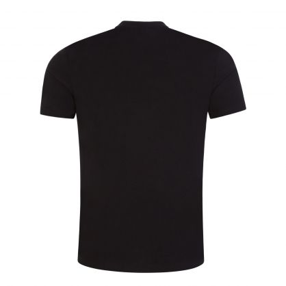 Black Beachwear Slim-Fit Sun Protection T-Shirt