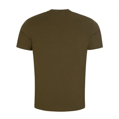 Green Beachwear Slim-Fit Sun Protection T-Shirt