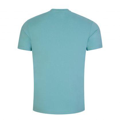 Turquoise Beachwear Slim-Fit Sun Protection T-Shirt