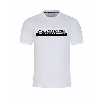 White Split Logo T-Shirt