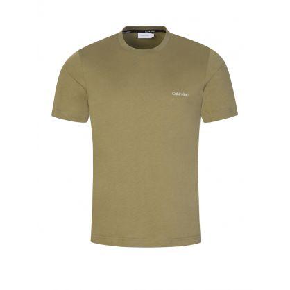 Green Chest Logo T-Shirt