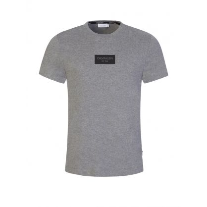 Grey Chest Box Logo T-Shirt