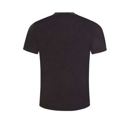 Black Reversed Logo T-Shirt