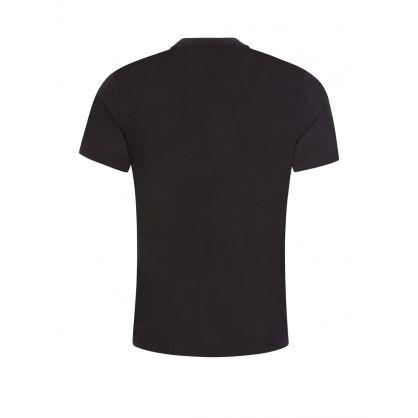 Black Tone on Tone Logo T-Shirt
