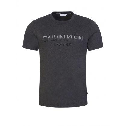 Grey Ombre Logo T-Shirt