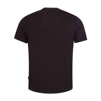 Black Organic Cotton Boxed Logo T-Shirt