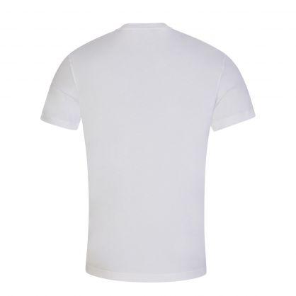 White Organic Cotton Box Logo T-Shirt