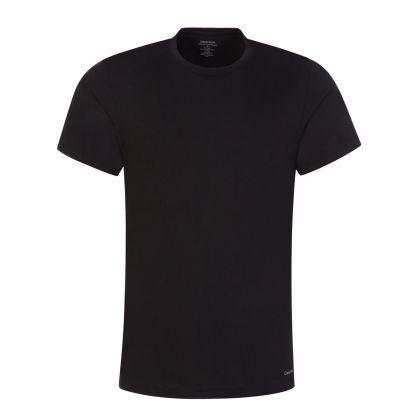 Black Classic-Fit Cotton T-Shirts 3-Pack