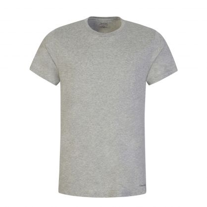 Black/White/Grey Classic-Fit Cotton T-Shirts 3-Pack