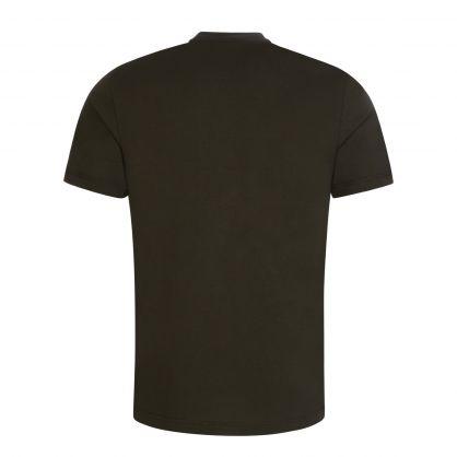 Green Organic Cotton Front Logo T-Shirt