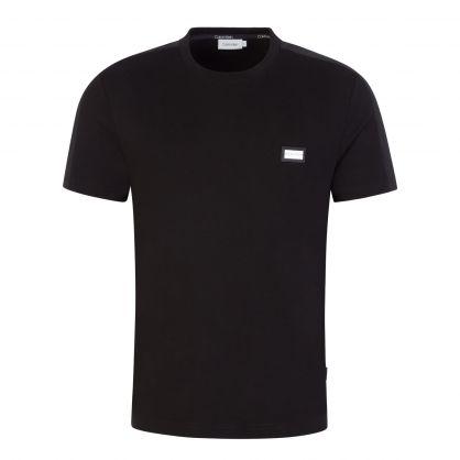 Black Metal Badge Logo T-Shirt