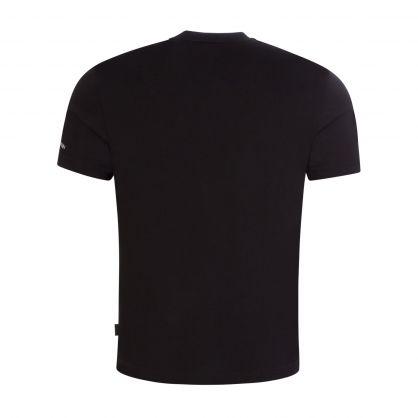Black Logo Shadow T-Shirt