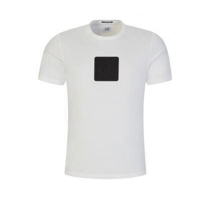 White Metropolis Series Logo Badge T-Shirt