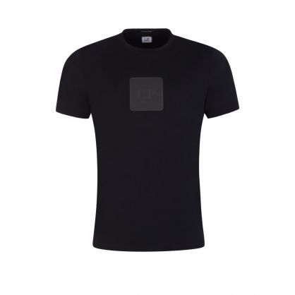Black 30/1 Logo Plaque T-Shirt
